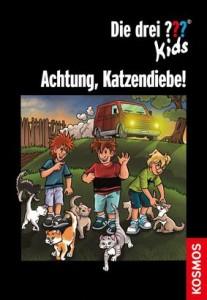 Achtung, Katzendiebe! (ab 8, zus. mit Regina Nössler, Kosmos 2014)
